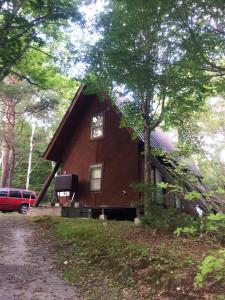 たてしな自然の村宿泊施設 キャビン